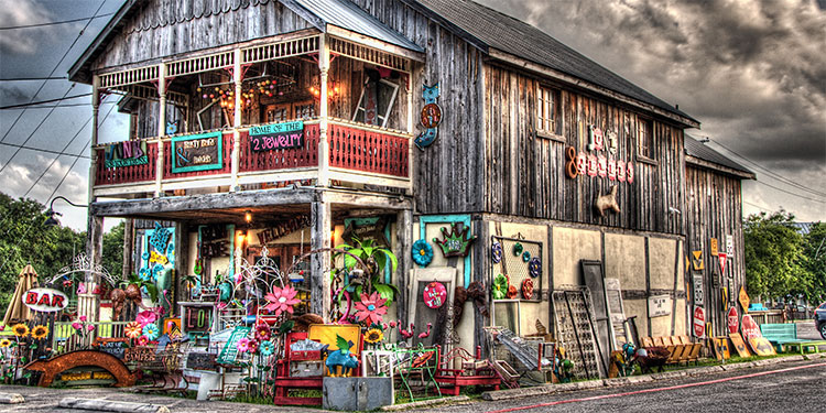 Shopping in Historic Gruene