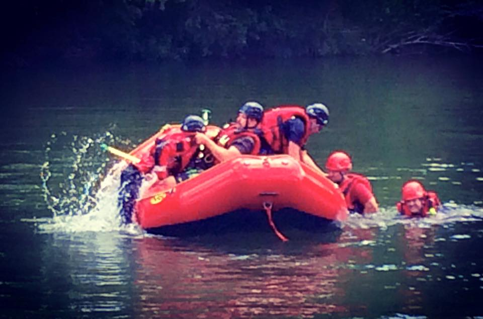 Swiftwater Rescue Training Underway
