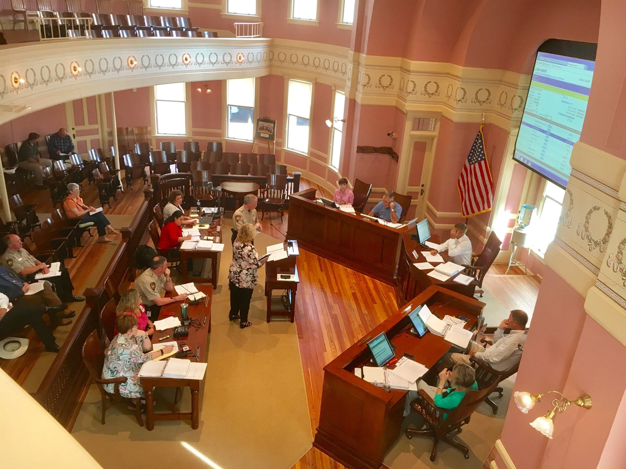 Comal County Commissioners Consider 2017 Budget