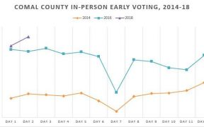 10,000 Voters Turn Out in Comal