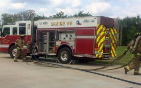 Two Dead After Blaze Near Cranes Mill