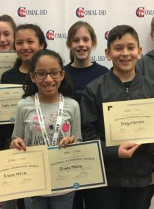 MVMS Students Compete in Geography Bee
