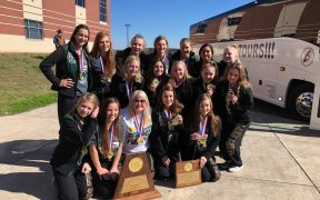 CLHS Cheerleaders Win UIL