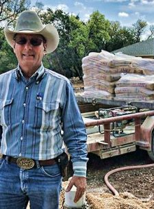 H.L. Saur, general manager of Comal Trinity Groundwater District