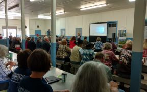 attendees at saving family lands workshop