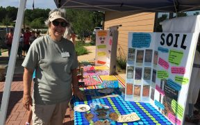 NPSOT booth at Earth Day