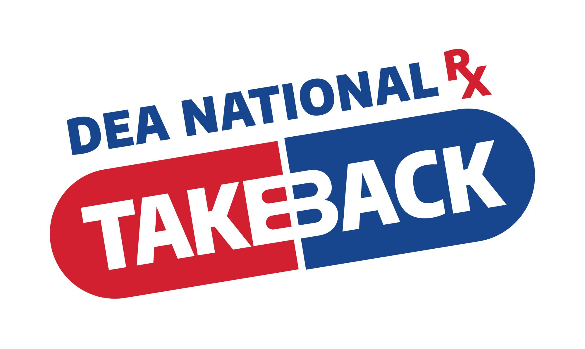 DEA National Rx TakeBack Drug Day logo