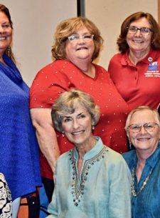 league of women voters Comal area board