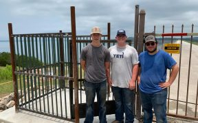 New Gate for Canyon Lake Dam