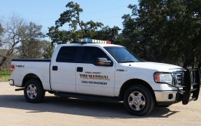 Comal County Fire Marshal's truck
