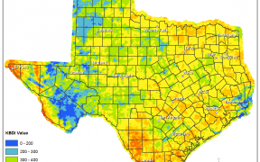 Keetch-Byram Drought Index for July 25