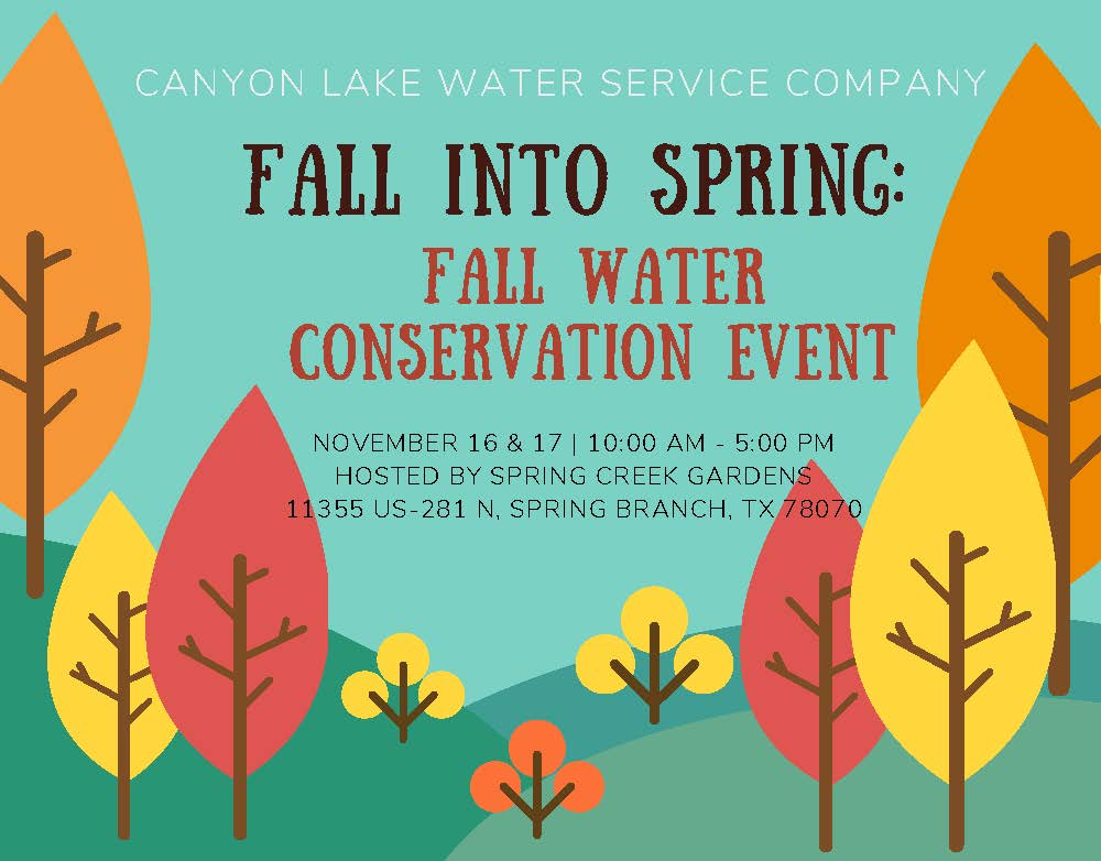 CLWS Water Conservation event