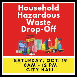 household hazardous waste drop-off