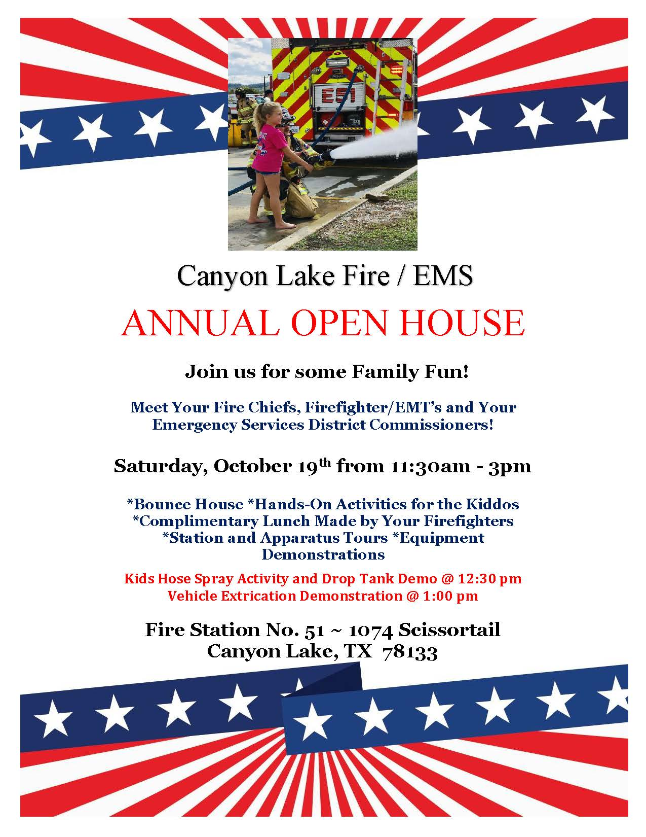 Canyon Lake Fire/EMS Open House
