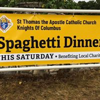 St. Thomas the Apostle spaghetti dinner