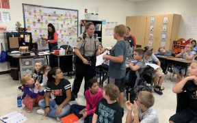 comal isd students with safety officer