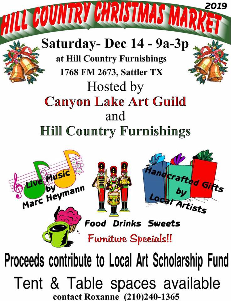 CanyonLake Art Guild Christmas Market